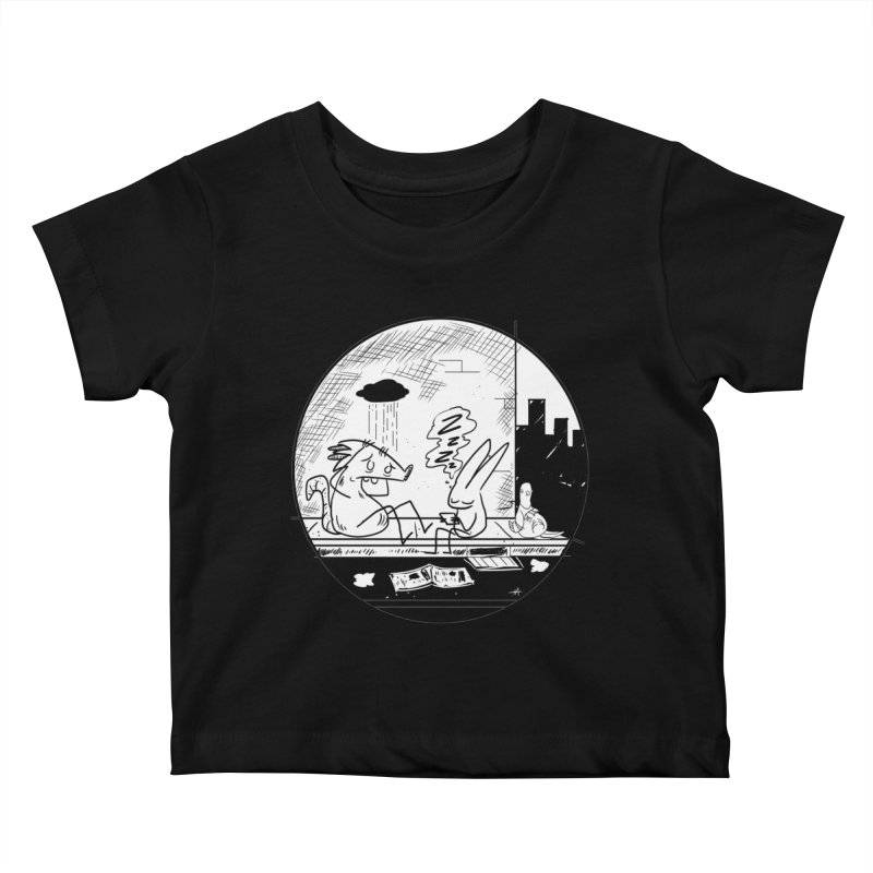 big city nights, big stupid dreams Kids Baby T-Shirt by Maat Haas: The Shop