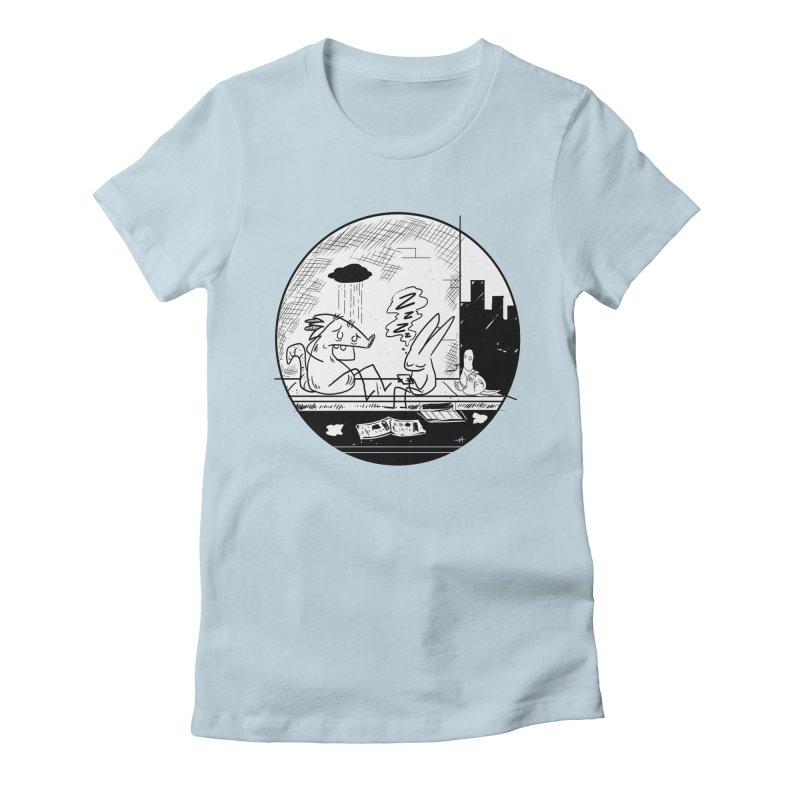 big city nights, big stupid dreams Women's T-Shirt by Maat Haas: The Shop