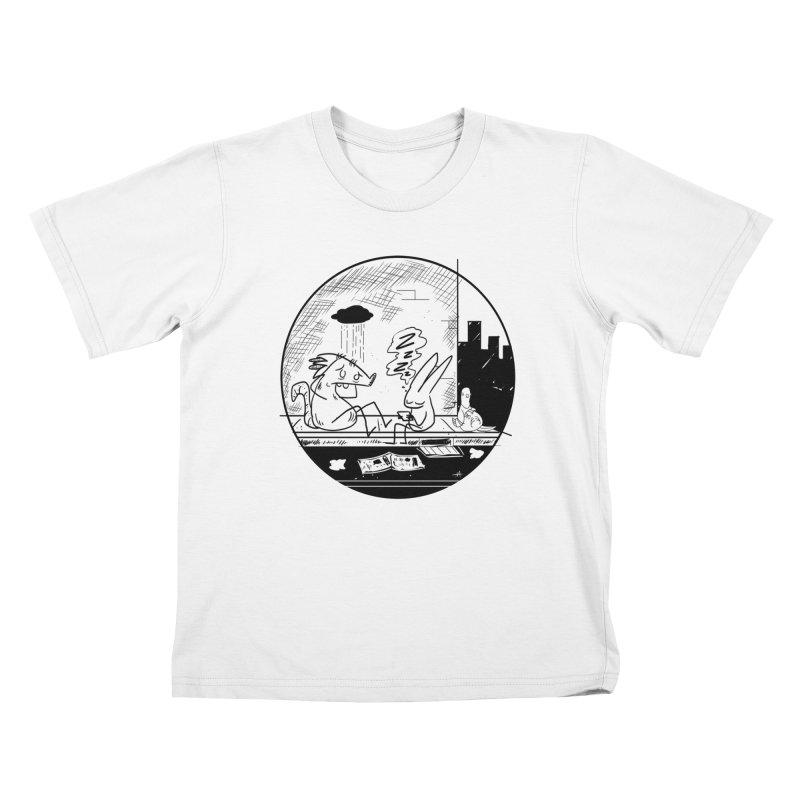 big city nights, big stupid dreams Kids T-Shirt by Maat Haas: The Shop