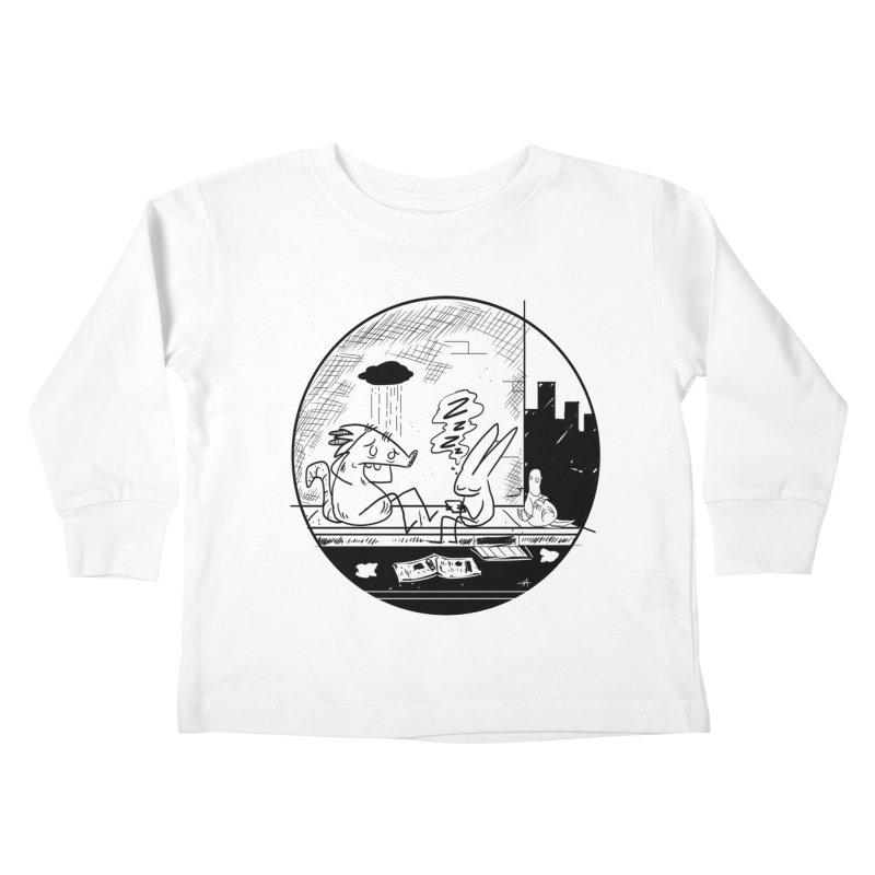 big city nights, big stupid dreams Kids Toddler Longsleeve T-Shirt by Maat Haas: The Shop