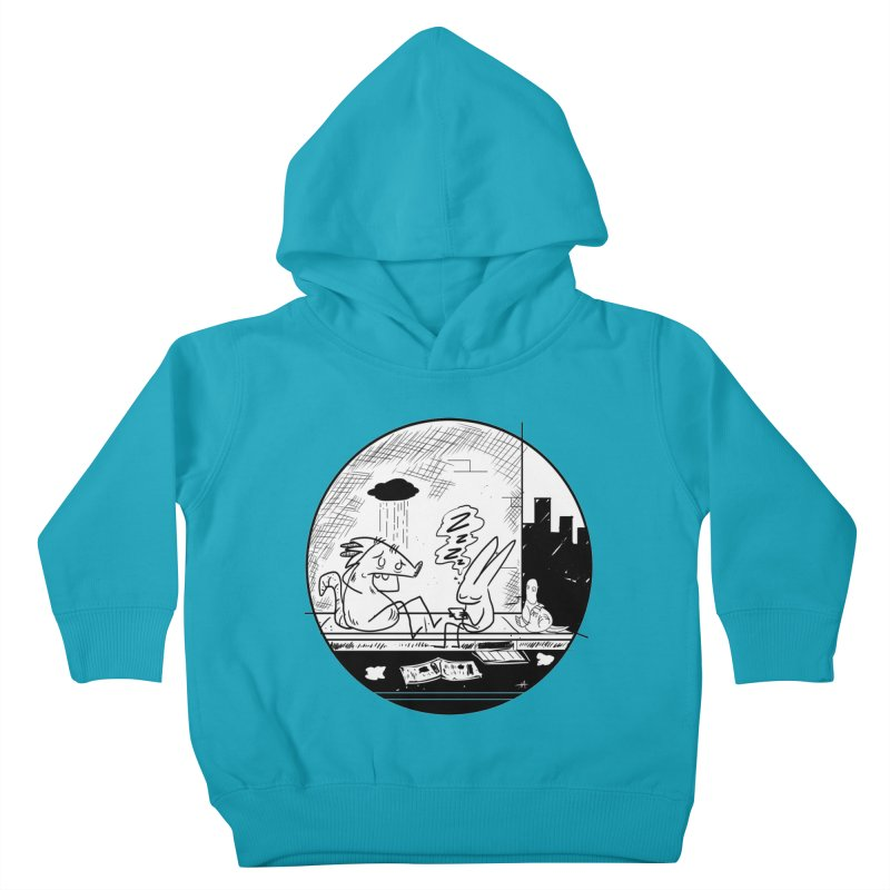 big city nights, big stupid dreams Kids Toddler Pullover Hoody by Maat Haas: The Shop