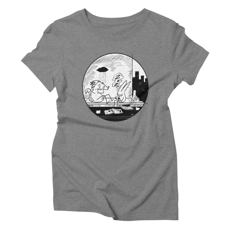 big city nights, big stupid dreams Women's Triblend T-Shirt by Maat Haas: The Shop