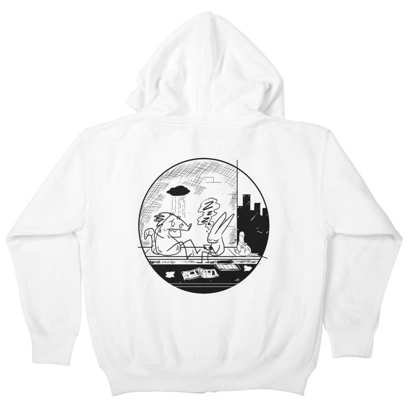 big city nights, big stupid dreams Kids Zip-Up Hoody by Maat Haas: The Shop