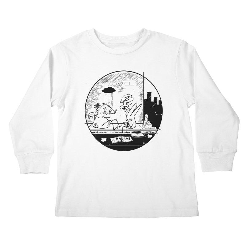 big city nights, big stupid dreams Kids Longsleeve T-Shirt by Maat Haas: The Shop