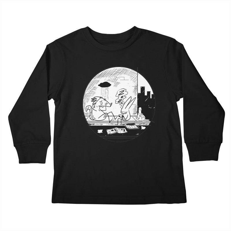 big city nights, big stupid dreams Kids Longsleeve T-Shirt by Maat Haas: The Shop