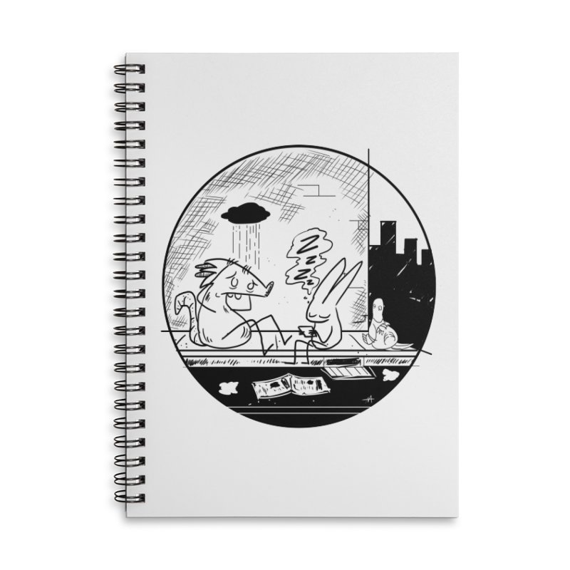 big city nights, big stupid dreams Accessories Lined Spiral Notebook by Maat Haas: The Shop