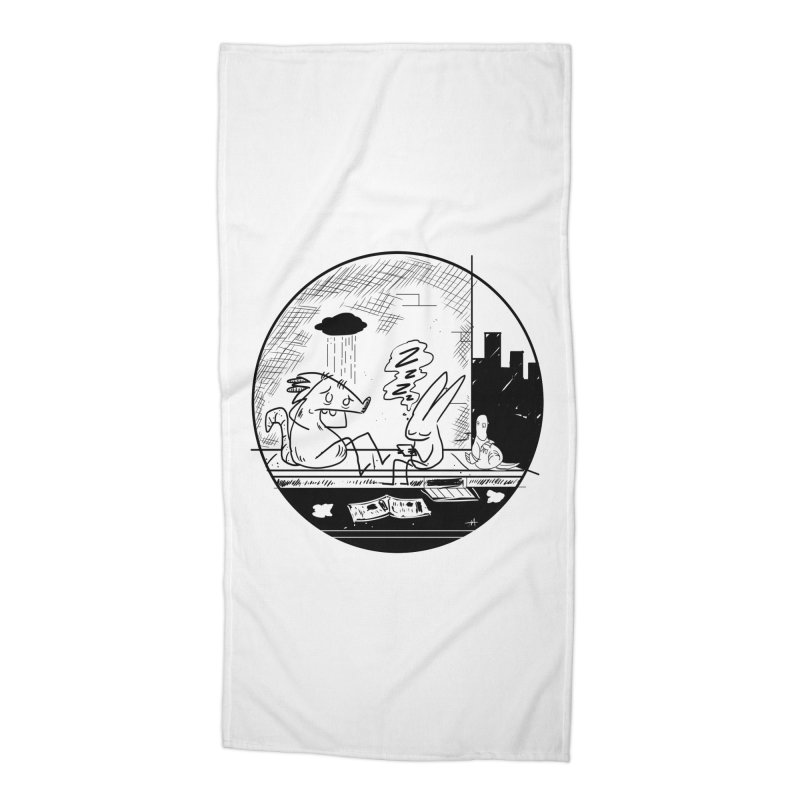 big city nights, big stupid dreams Accessories Beach Towel by Maat Haas: The Shop