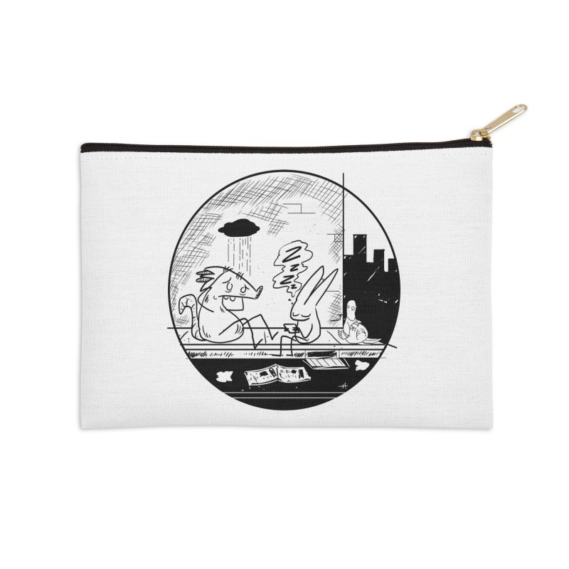 big city nights, big stupid dreams Accessories Zip Pouch by Maat Haas: The Shop