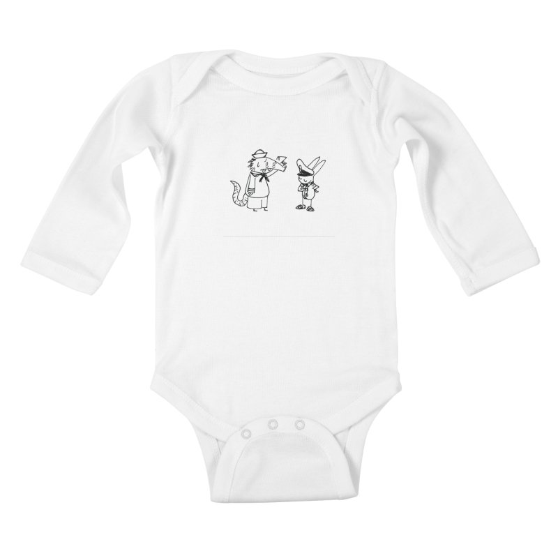 boat shoes Kids Baby Longsleeve Bodysuit by Maat Haas: The Shop
