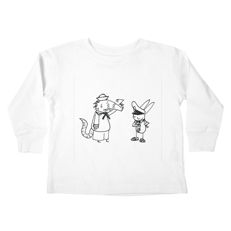 boat shoes Kids Toddler Longsleeve T-Shirt by Maat Haas: The Shop