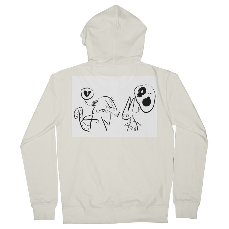 this world is only gonna break your heart Men's Zip-Up Hoody by Maat Haas: The Shop