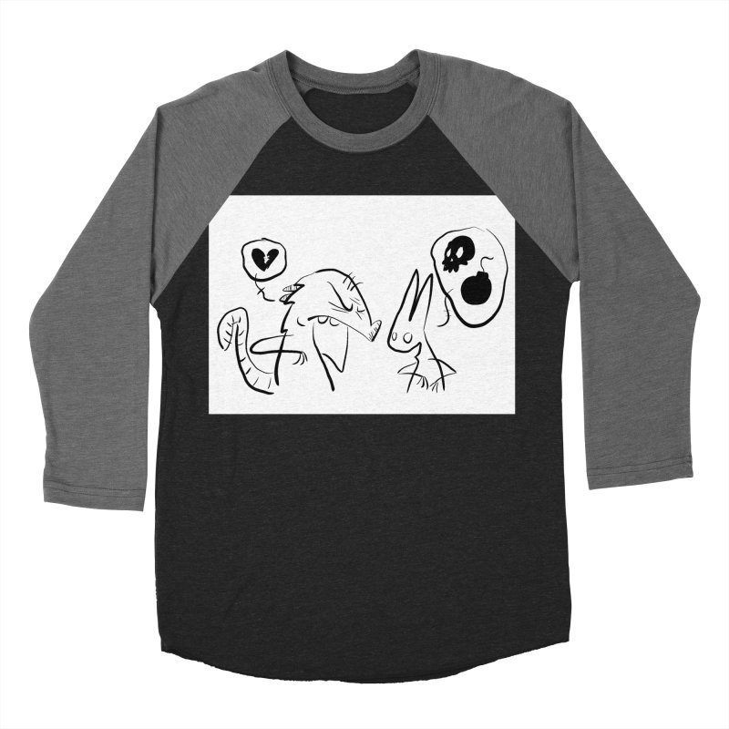 this world is only gonna break your heart Men's Baseball Triblend Longsleeve T-Shirt by Maat Haas: The Shop