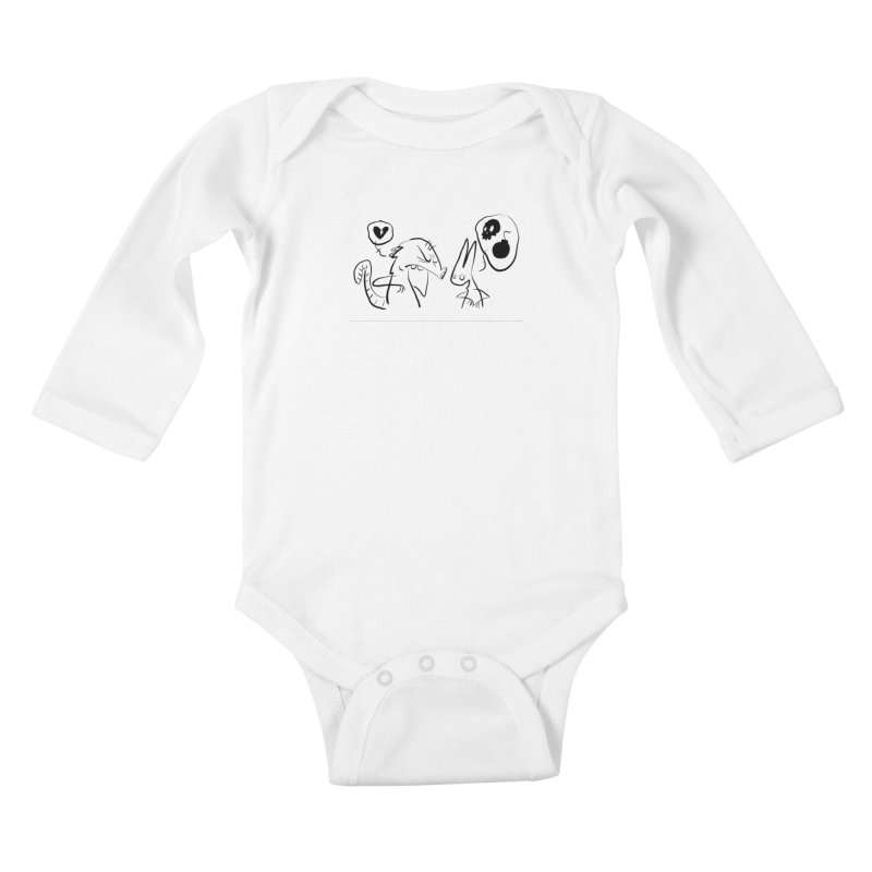 this world is only gonna break your heart Kids Baby Longsleeve Bodysuit by Maat Haas: The Shop