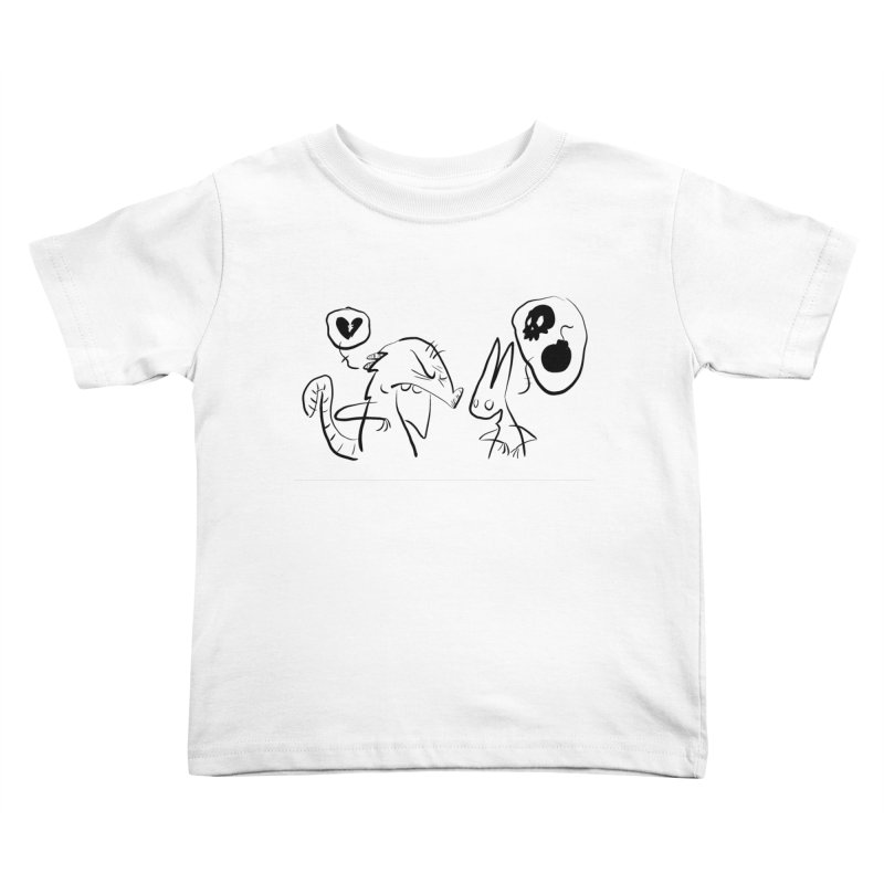 this world is only gonna break your heart Kids Toddler T-Shirt by Maat Haas: The Shop
