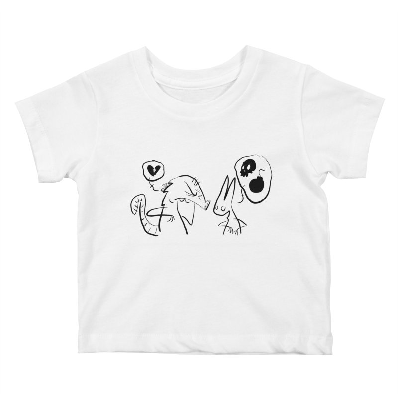 this world is only gonna break your heart Kids Baby T-Shirt by Maat Haas: The Shop
