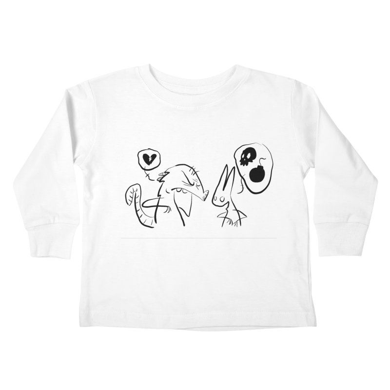 this world is only gonna break your heart Kids Toddler Longsleeve T-Shirt by Maat Haas: The Shop