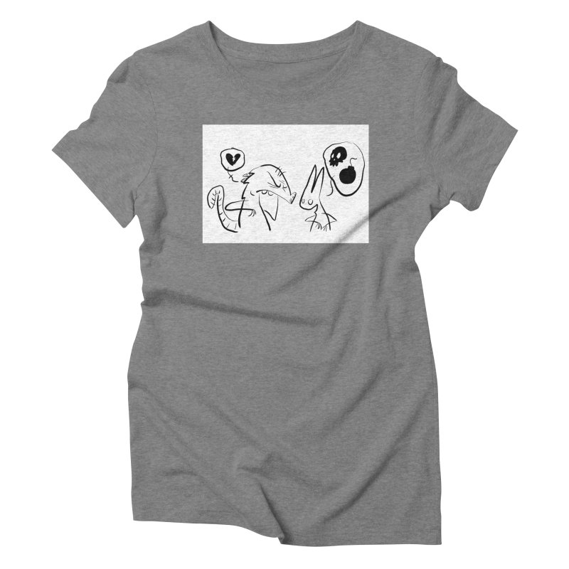this world is only gonna break your heart Women's Triblend T-Shirt by Maat Haas: The Shop