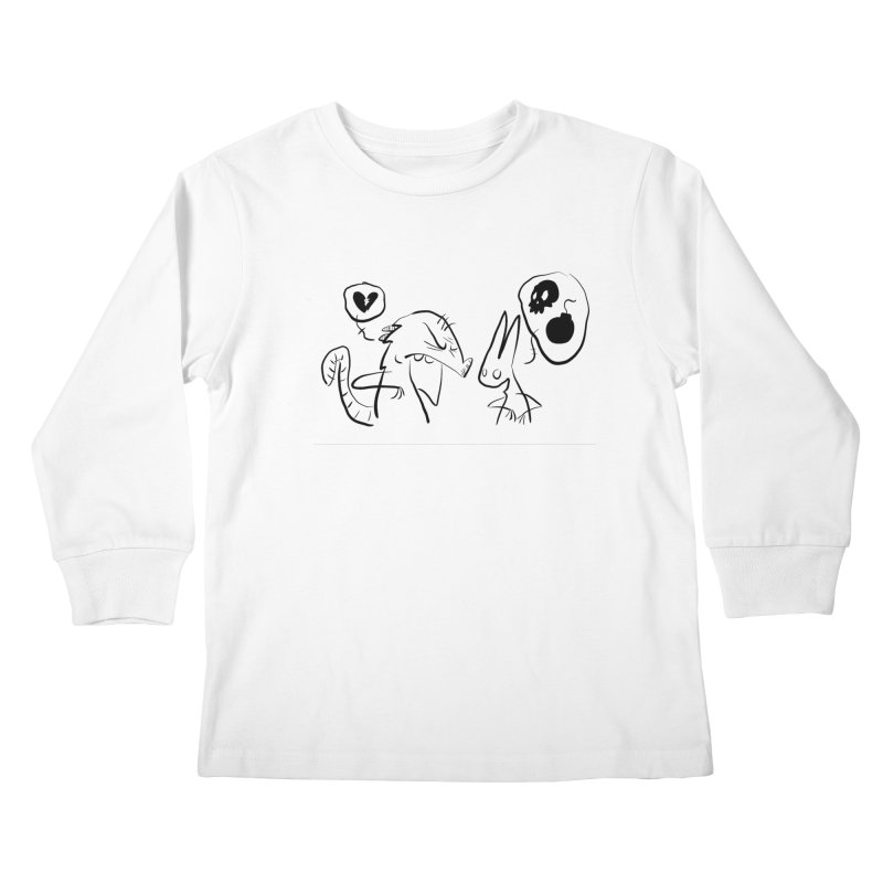 this world is only gonna break your heart Kids Longsleeve T-Shirt by Maat Haas: The Shop