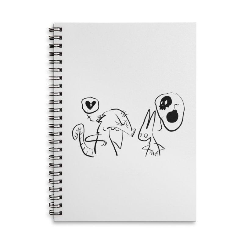 this world is only gonna break your heart Accessories Lined Spiral Notebook by Maat Haas: The Shop