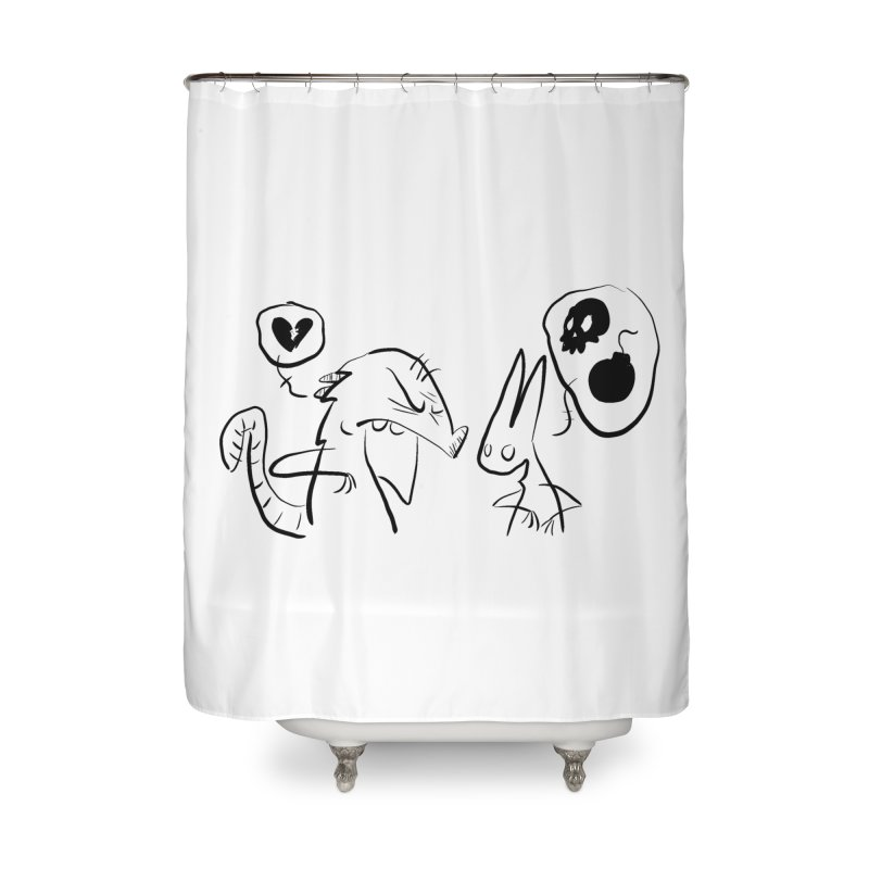 this world is only gonna break your heart Home Shower Curtain by Maat Haas: The Shop