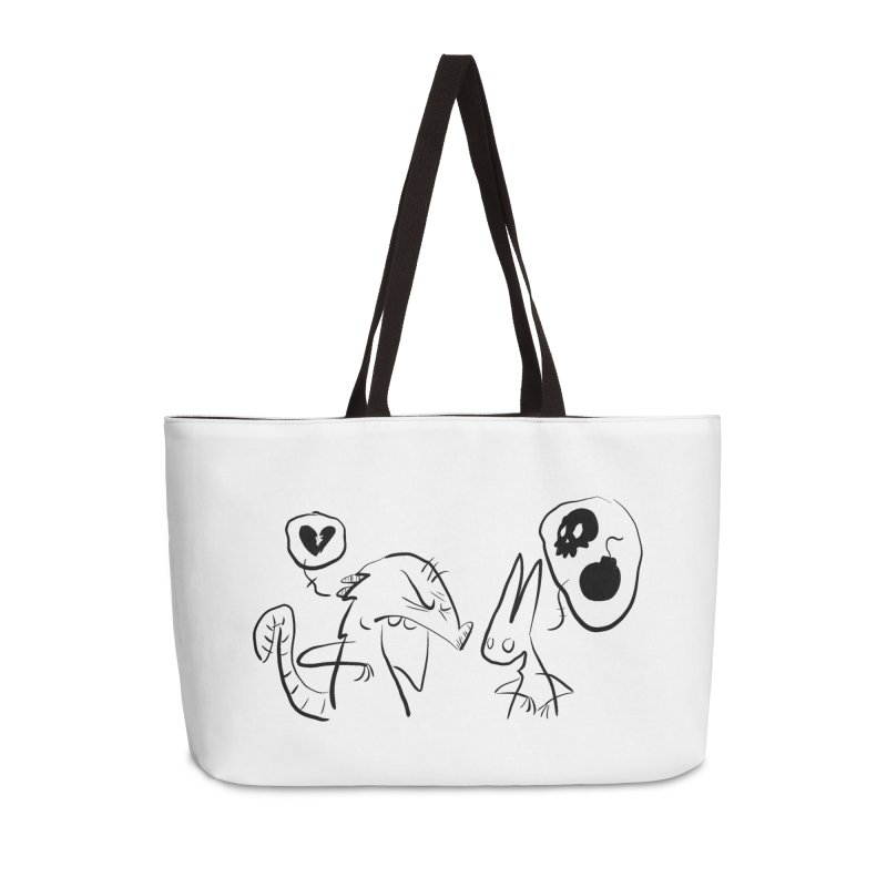 this world is only gonna break your heart Accessories Weekender Bag Bag by Maat Haas: The Shop