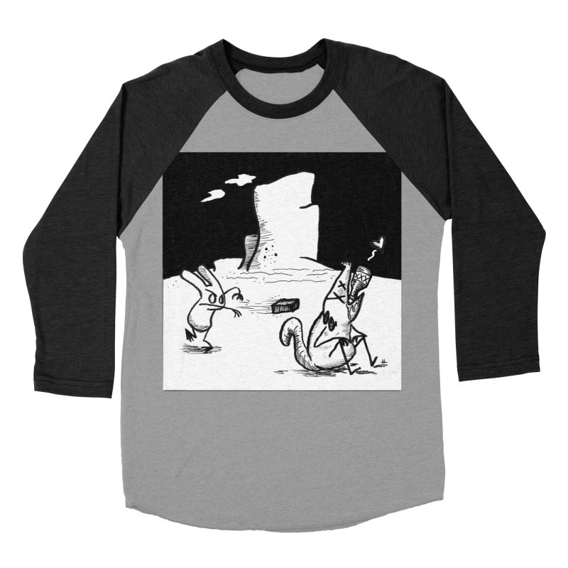 you are only the sum of your influences Men's Baseball Triblend Longsleeve T-Shirt by Maat Haas: The Shop