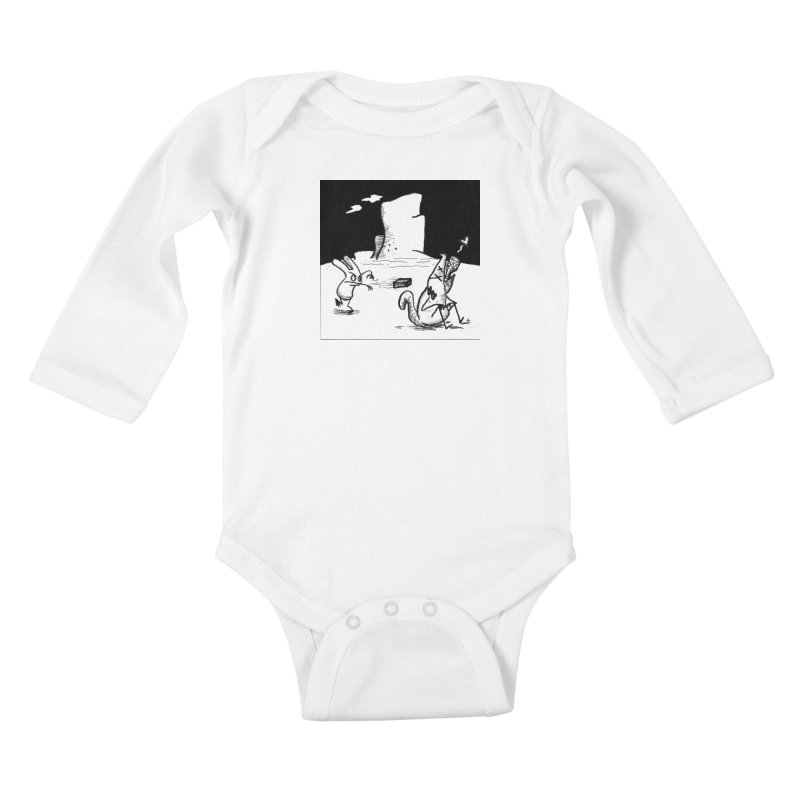 you are only the sum of your influences Kids Baby Longsleeve Bodysuit by Maat Haas: The Shop