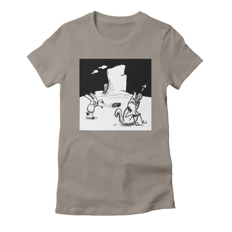 you are only the sum of your influences Women's Fitted T-Shirt by Maat Haas: The Shop