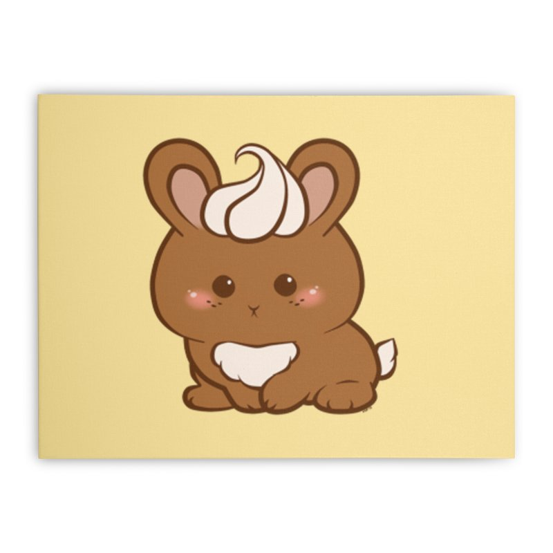 maax choco-bunny home stretched-canvas