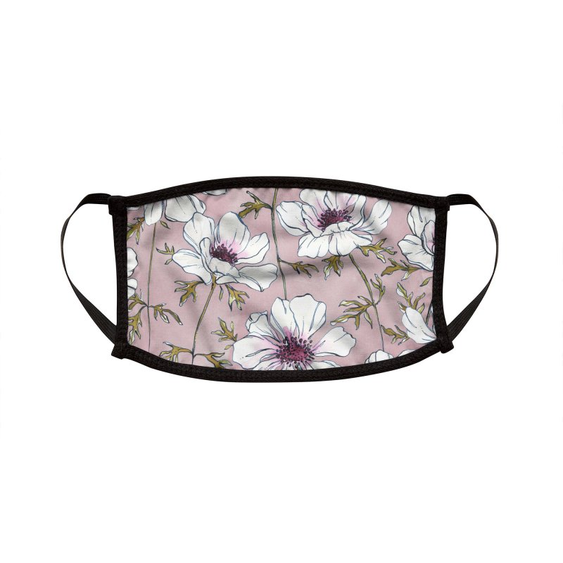 anemones Accessories Face Mask by Maayan Alper-Swan