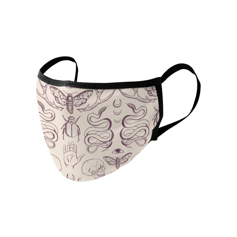 magick - lilac Accessories Face Mask by Maayan Alper-Swan