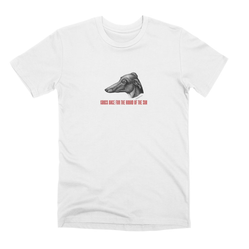 Hound of the Sun Men's Premium T-Shirt by mabelpodcast's Artist Shop