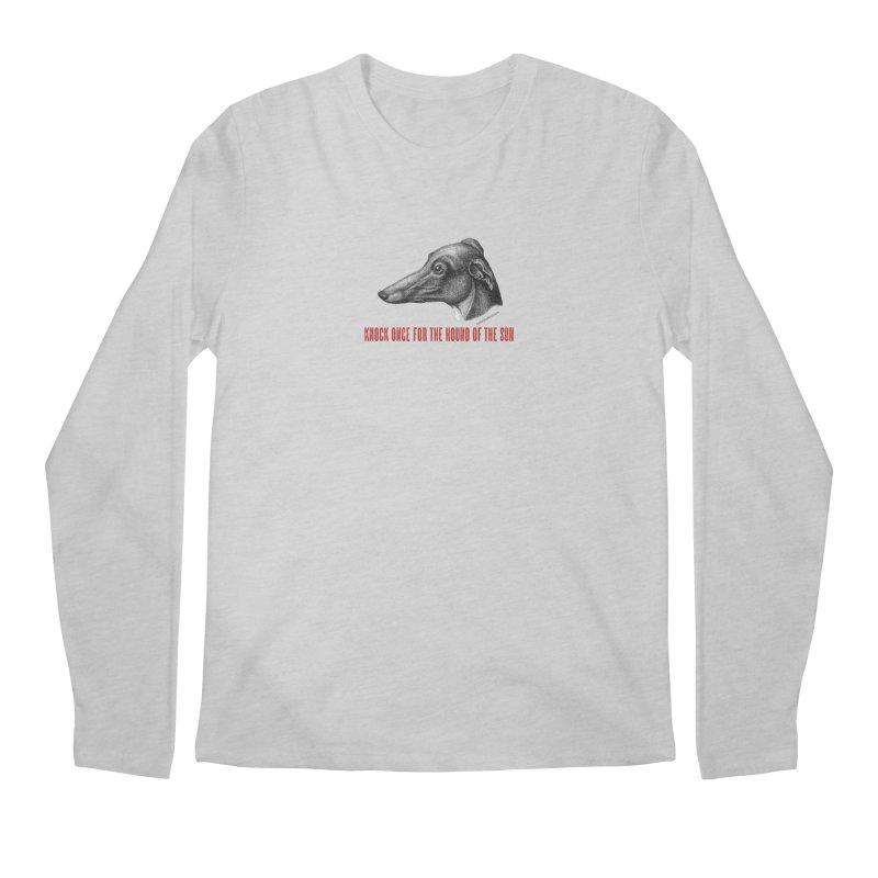 Hound of the Sun Men's Regular Longsleeve T-Shirt by mabelpodcast's Artist Shop