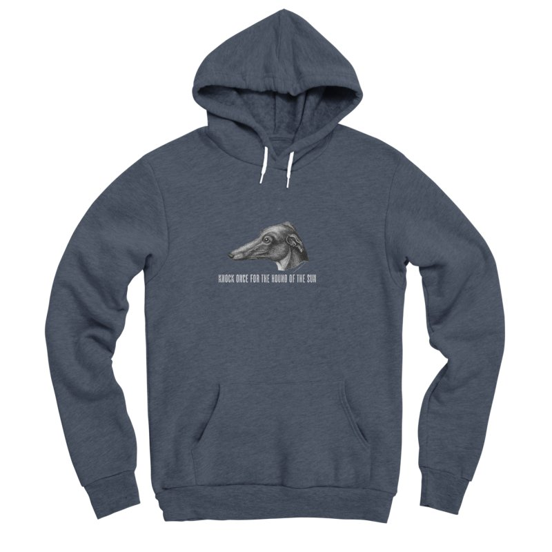 Hound of the Sun (colours) Women's Sponge Fleece Pullover Hoody by mabelpodcast's Artist Shop