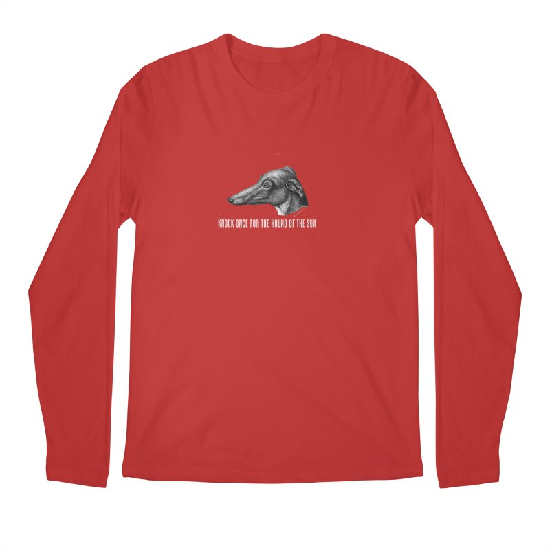 Hound of the Sun (colours) Men's Regular Longsleeve T-Shirt by mabelpodcast's Artist Shop