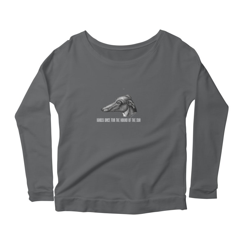 Hound of the Sun (colours) Women's Scoop Neck Longsleeve T-Shirt by mabelpodcast's Artist Shop