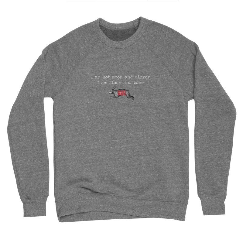 Moon and Mirror (colours) Men's Sponge Fleece Sweatshirt by mabelpodcast's Artist Shop