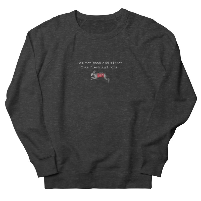 Moon and Mirror (colours) Women's French Terry Sweatshirt by mabelpodcast's Artist Shop