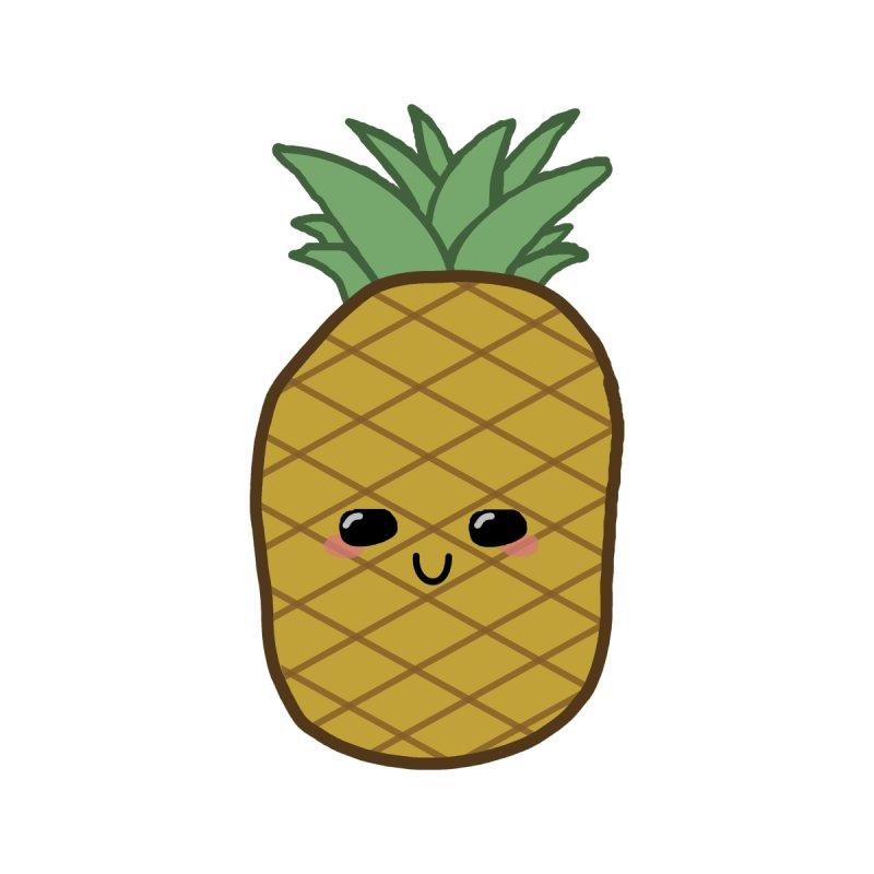 Kawaii Pineapple by Macaronian