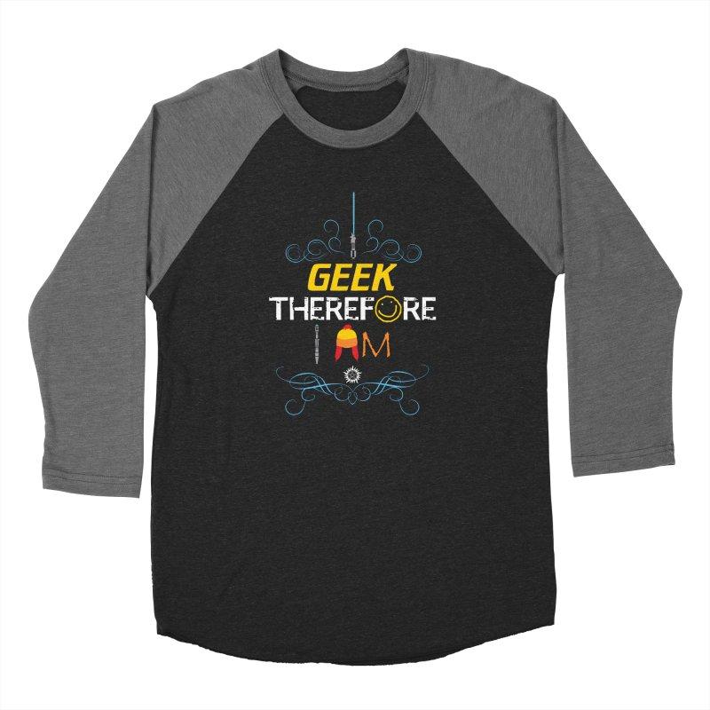 I Geek Two Men's Longsleeve T-Shirt by machmigo1's Artist Shop