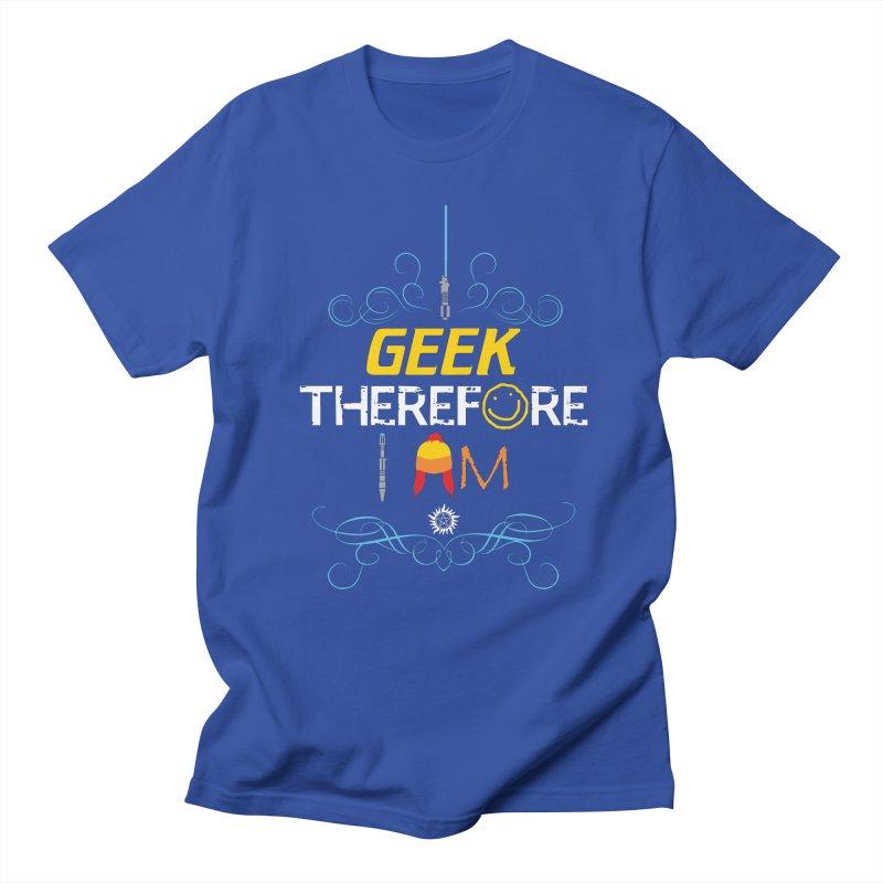 I Geek Two Men's T-Shirt by machmigo1's Artist Shop