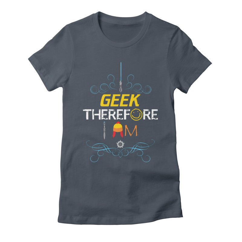 I Geek Two Women's T-Shirt by machmigo1's Artist Shop