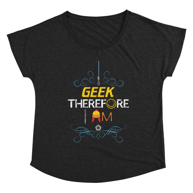 I Geek Two Women's Scoop Neck by machmigo1's Artist Shop