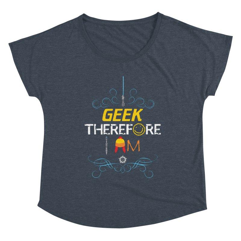 I Geek Two Women's Scoop Neck by machmigo1's Artist Shop