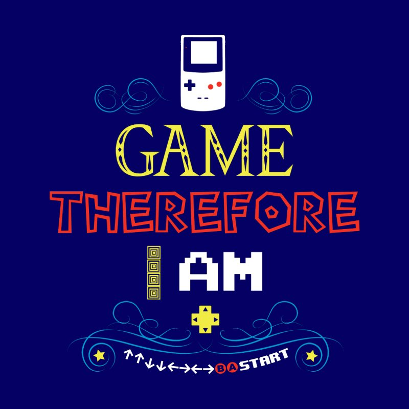I Game Men's V-Neck by machmigo1's Artist Shop