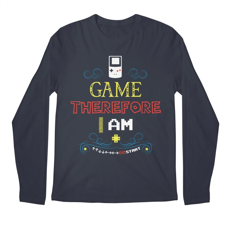 I Game Men's Longsleeve T-Shirt by machmigo1's Artist Shop
