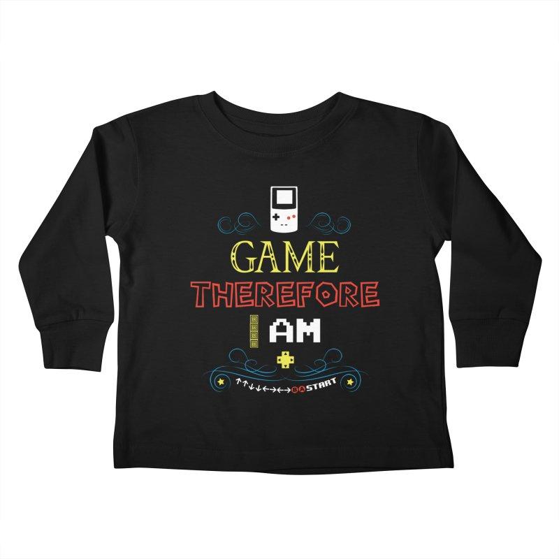 I Game Kids Toddler Longsleeve T-Shirt by machmigo1's Artist Shop