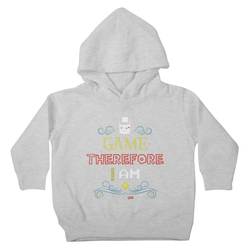 I Game Kids Toddler Pullover Hoody by machmigo1's Artist Shop