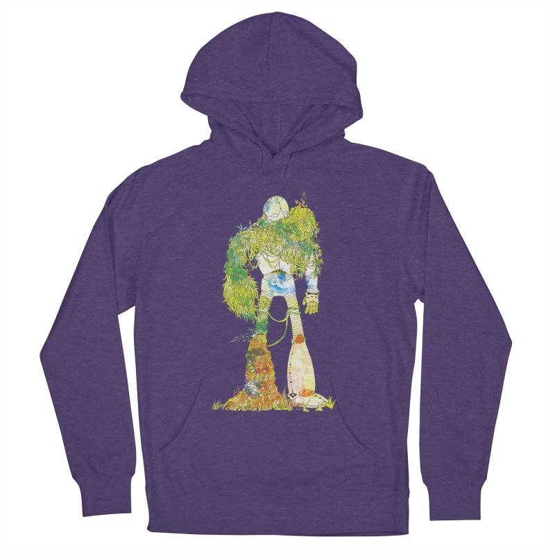 No More Machines Women's French Terry Pullover Hoody by machmigo1's Artist Shop
