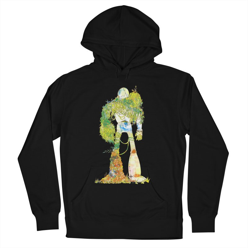 No More Machines Men's French Terry Pullover Hoody by machmigo1's Artist Shop